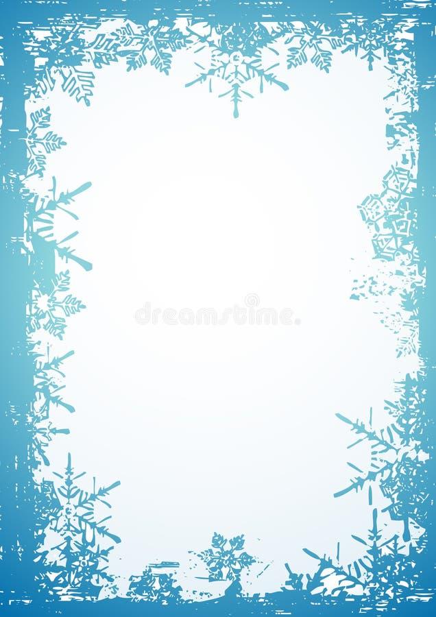 Flocon de neige, vecteur illustration stock