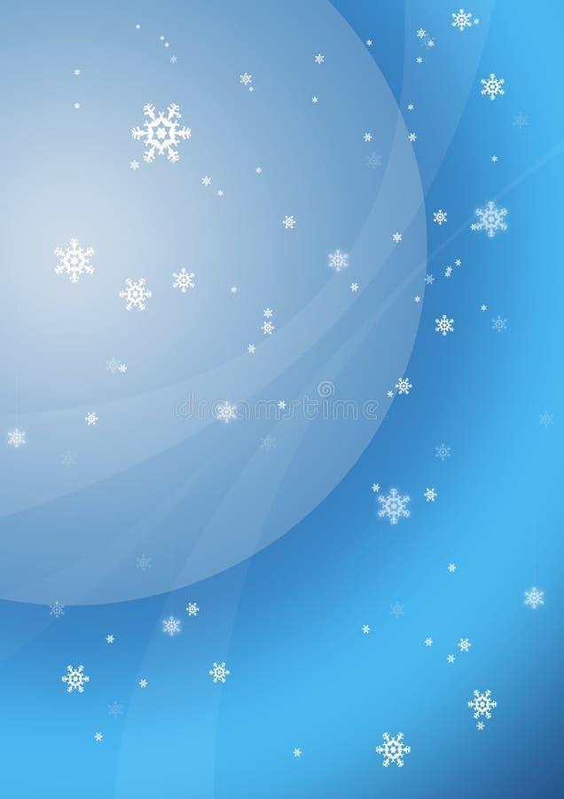 Flocons de neige 1 illustration de vecteur