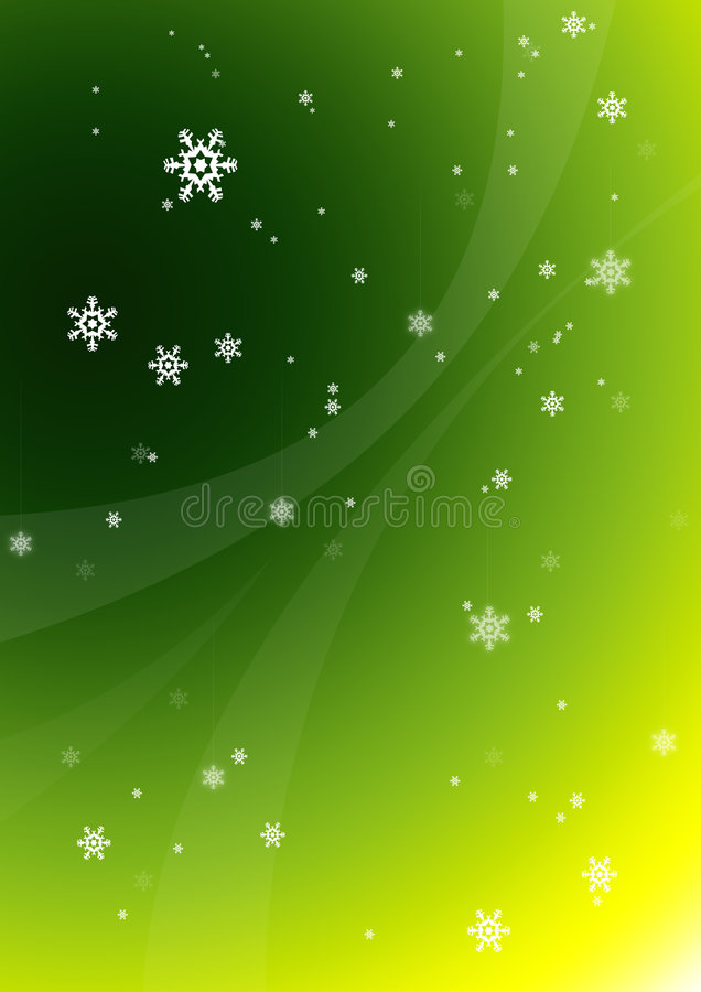 Flocons de neige 2 illustration libre de droits