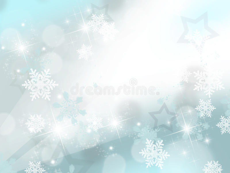 Flocons de neige photo stock