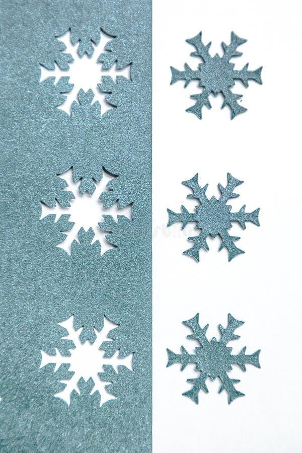 Flocons de neige de papier photo stock