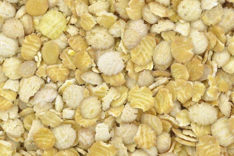 Flocons de soja image libre de droits
