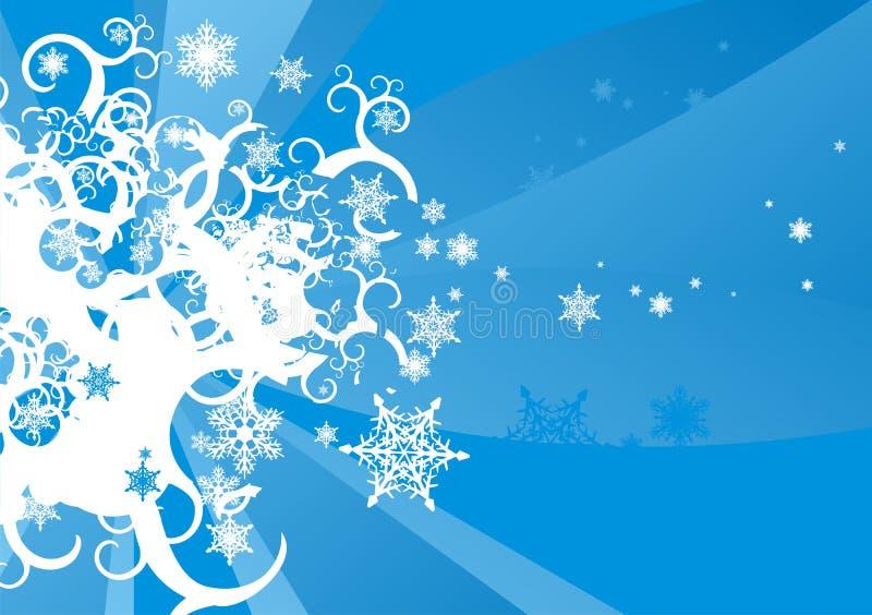Flocos de neve imagens de stock royalty free
