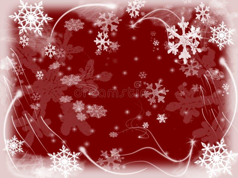 Flocos de neve 4 ilustração stock