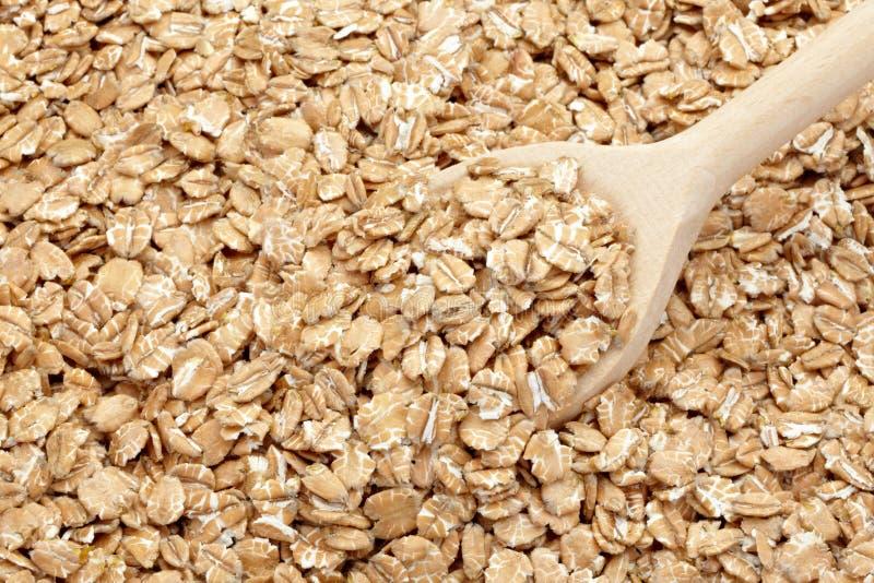 Flocos do trigo imagem de stock royalty free