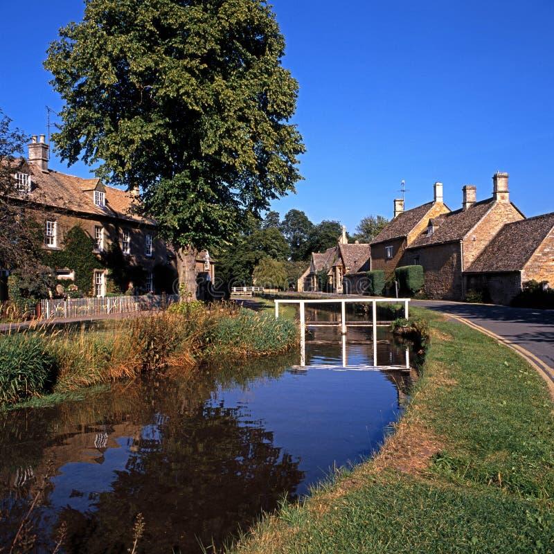 Flodögat, fäller ned slakt, England. arkivfoton