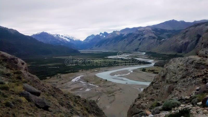 Flod av de tusen vändna royaltyfri fotografi