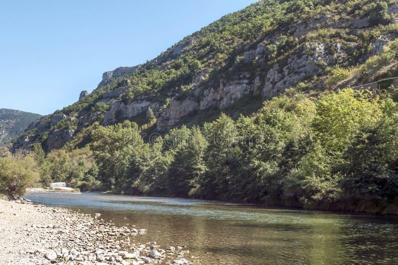 Flod av La Madele arkivbilder