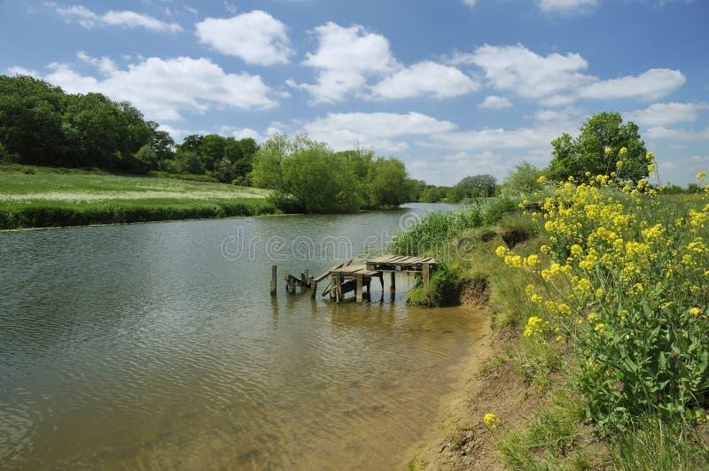 Flod Avon arkivfoto