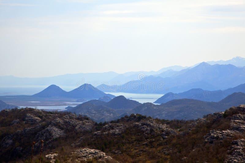 Flod Crnojevic Montenegro arkivfoto