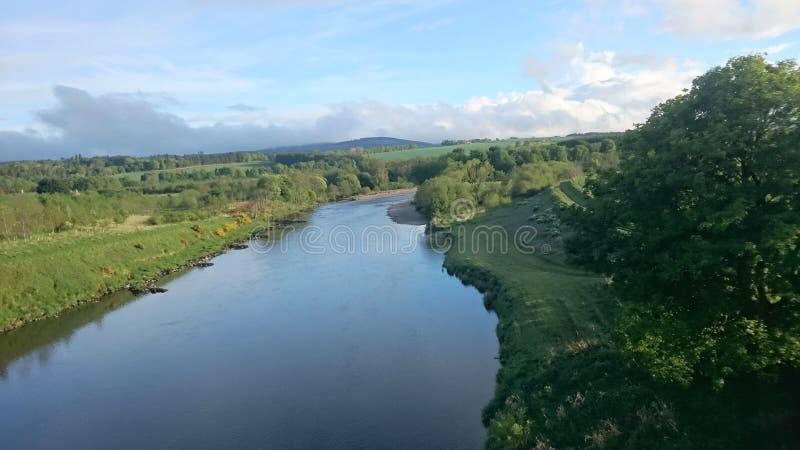 Flod Dee arkivbild