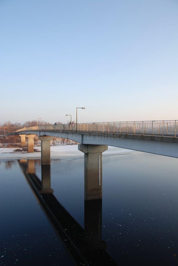flod för brochippewafot fotografering för bildbyråer