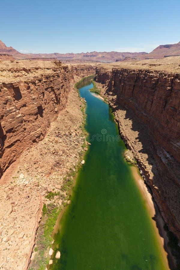 flod för kanjoncolorado marmor royaltyfri bild