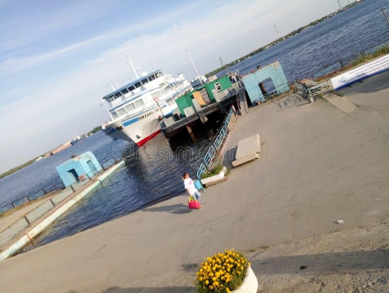 Flod Lena arkivfoton