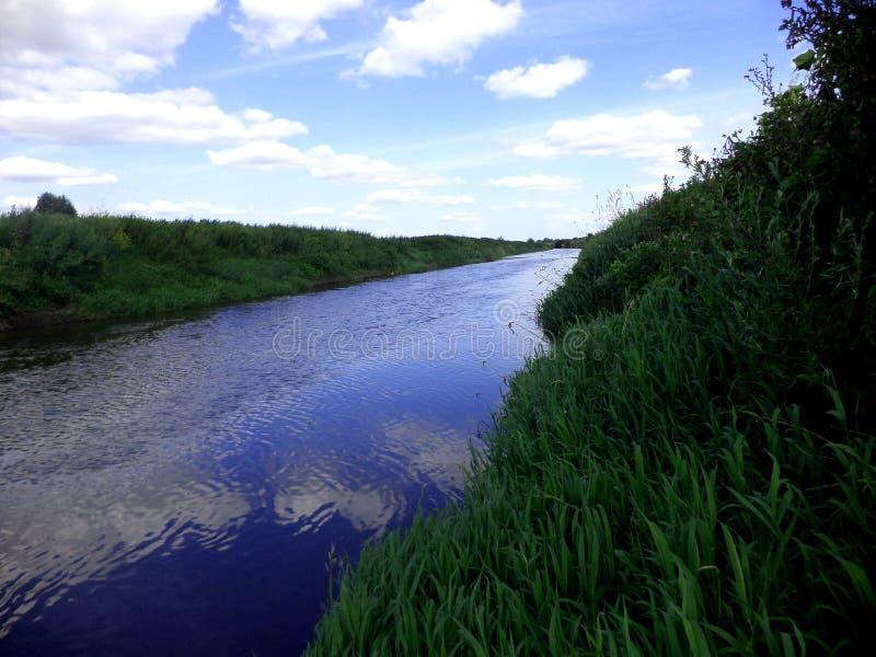 Flod & x22; Södra Boog& x22; royaltyfria bilder