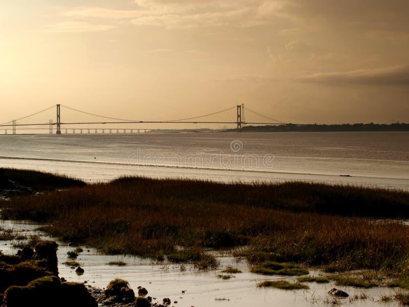 Flod Severn arkivbilder