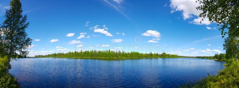 flod ukraine för region för dniprokyivpanorama fotografering för bildbyråer