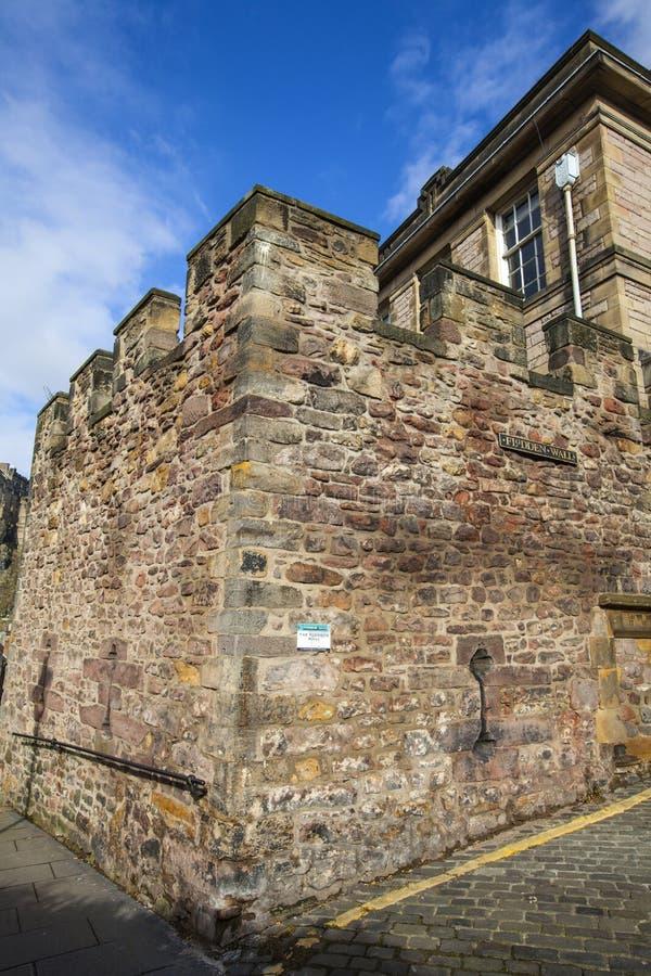 Flodden torn i Edinburg fotografering för bildbyråer
