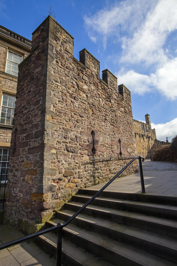 Flodden torn i Edinburg royaltyfri foto
