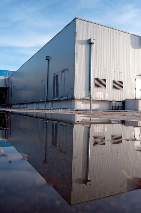 Free Floded Warehouse Exterior Stock Photos - 28436193