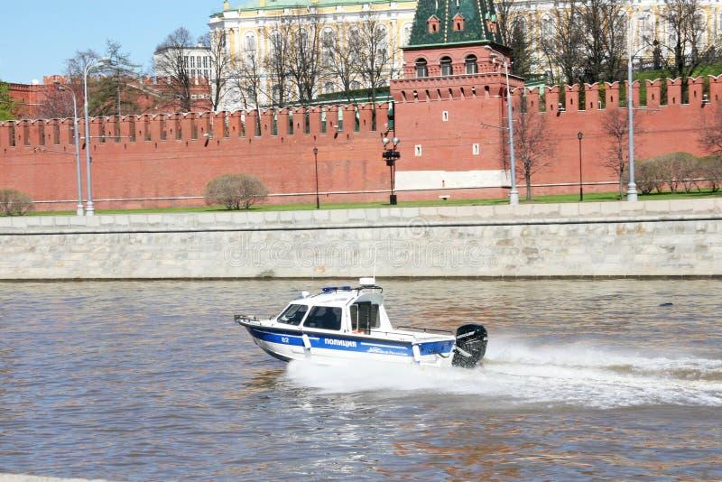 Flodpolisen arkivbild
