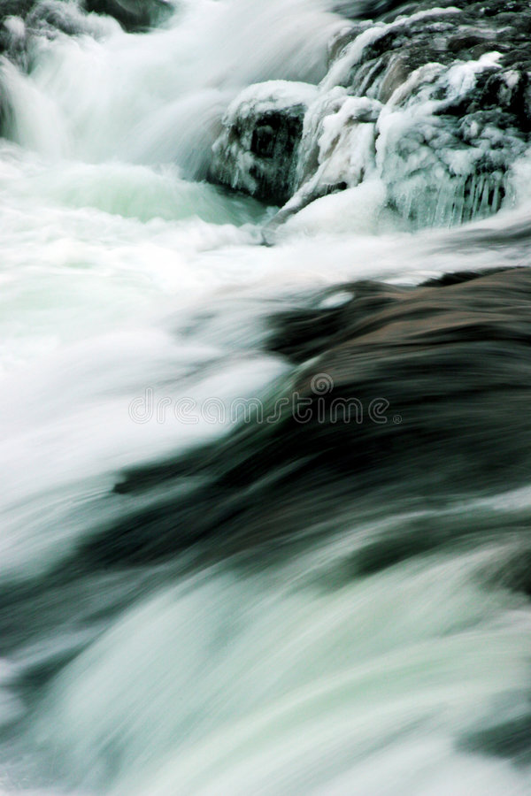 flodvinter royaltyfria foton