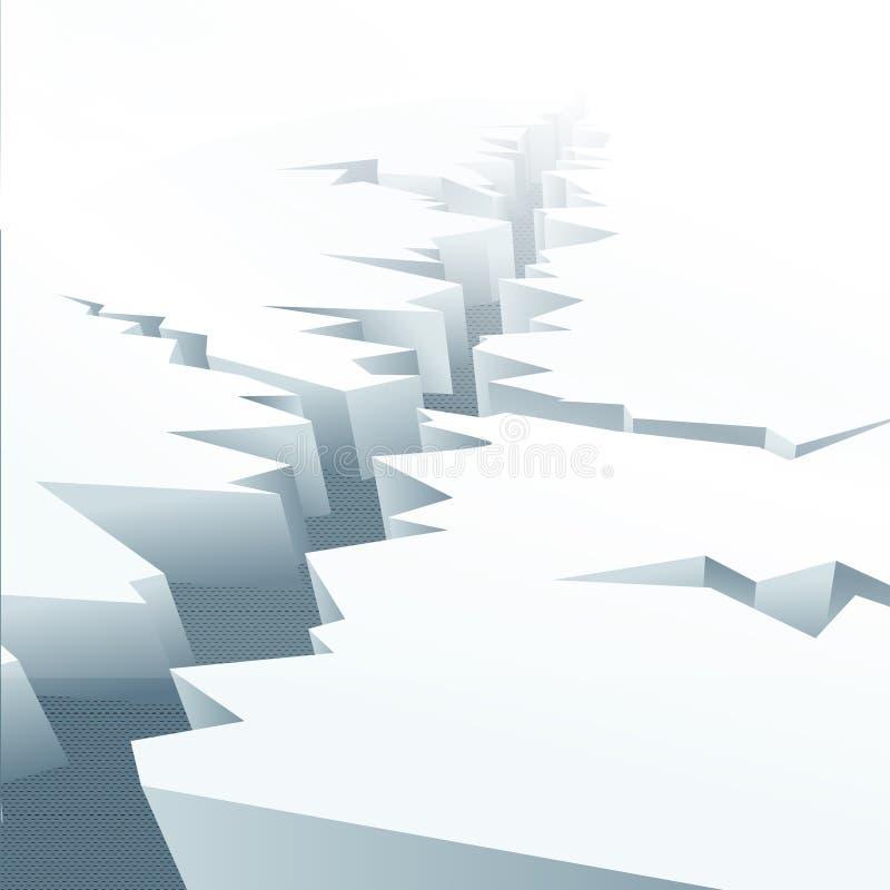 floe lód ilustracji