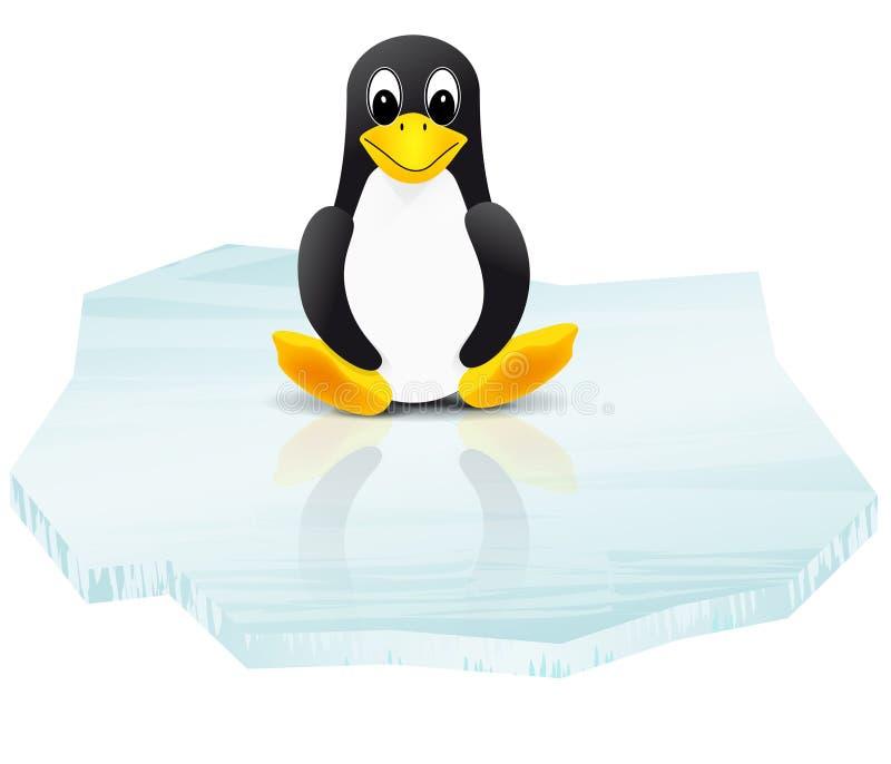 floe pingwin lodowy ilustracyjny ilustracji