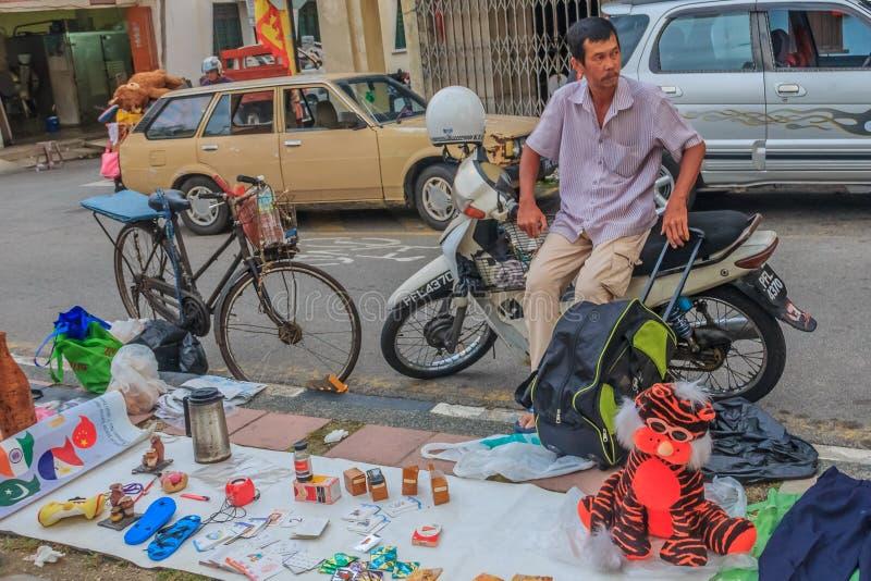 Flohmarkt in Georgetown stockbilder