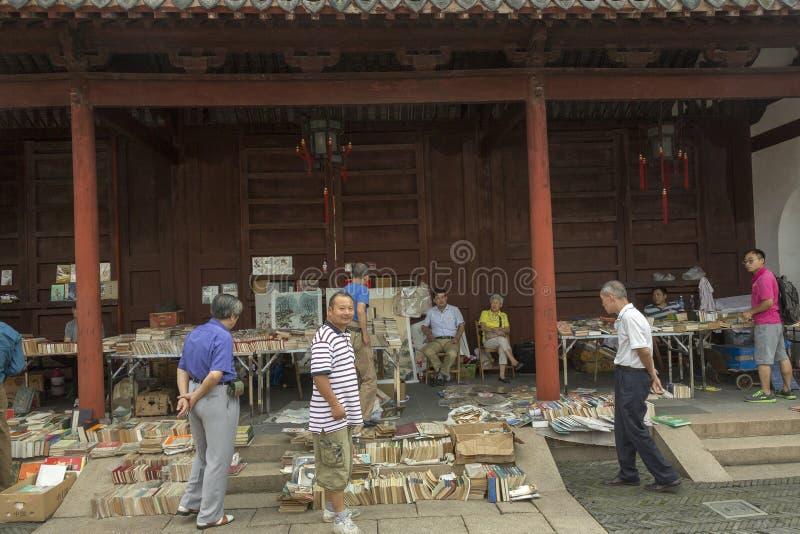 Flohmarkt in Shanghai, China stockbild