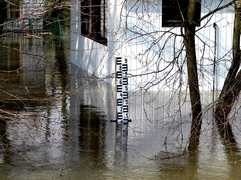 Download Flood stock photo. Image of inundate, home, freshet, debacle - 1124570