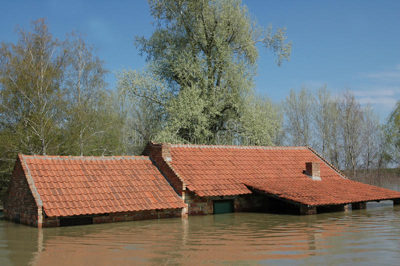 Download Flood stock image. Image of level, knocked, danger, abandoned - 18670149