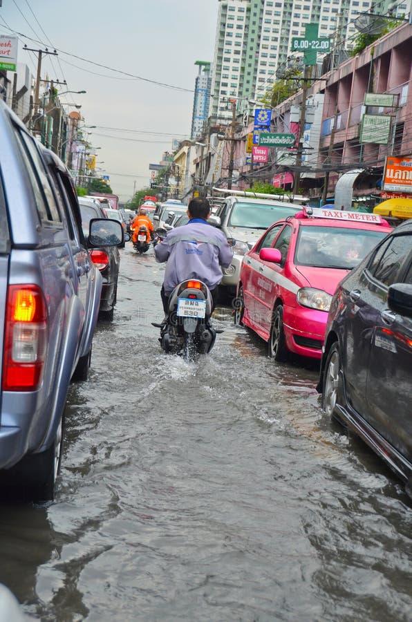Flood in Bangkok 2012