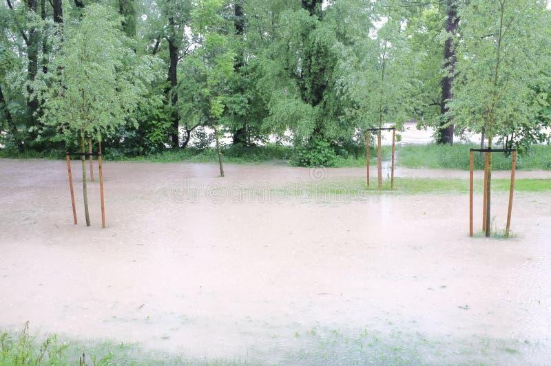 Flood Editorial Photo