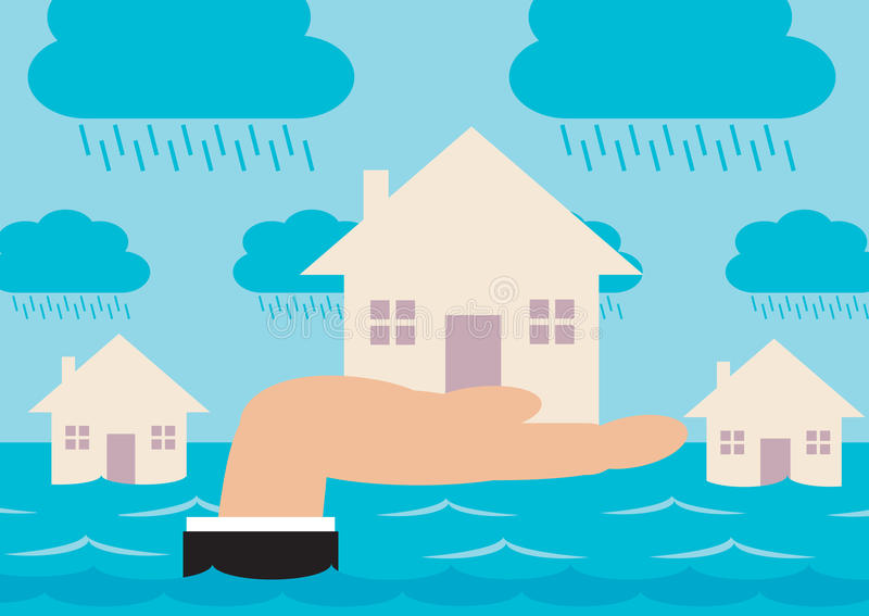 Download Flood Protection stock vector. Illustration of property - 39127109