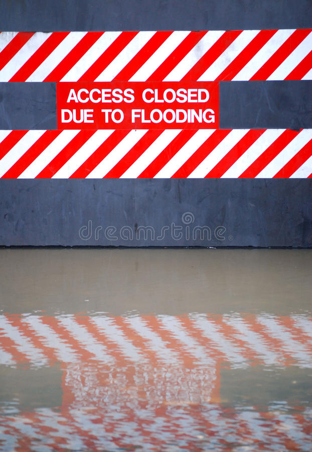 Download Flood sign stock image. Image of access, ouse, transport - 12000397