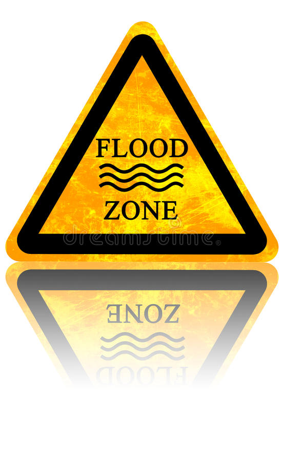 Free Flood Sign Royalty Free Stock Image - 35288396