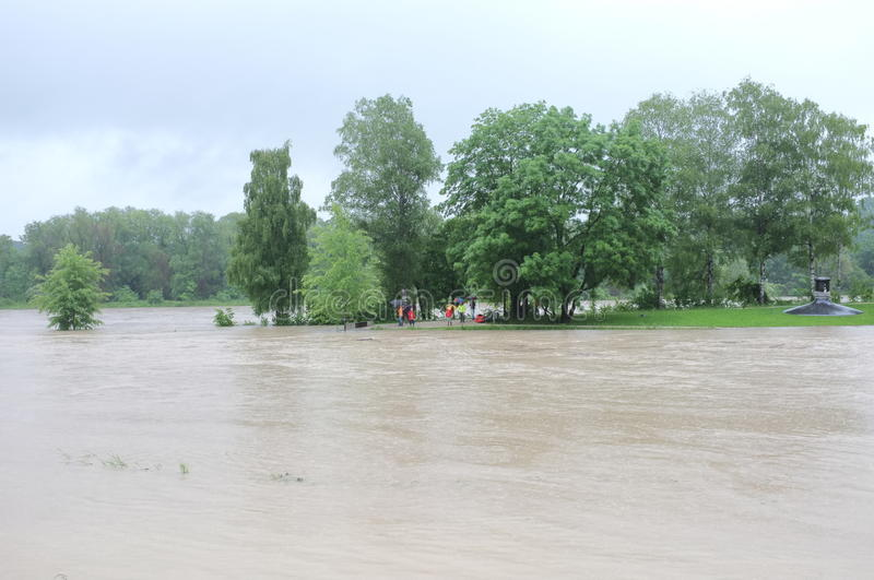 Download Flood Tourism Editorial Stock Image - Image: 31367384