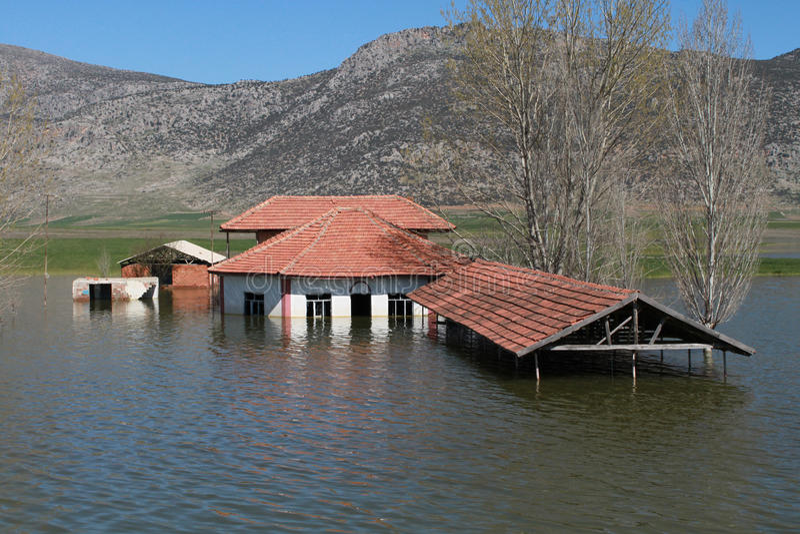 Flood1 stockfoto