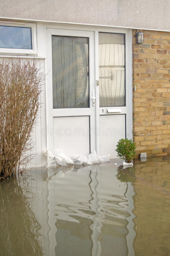 Download Flooded Front Door, Basingstoke Editorial Photography - Image: 37903062
