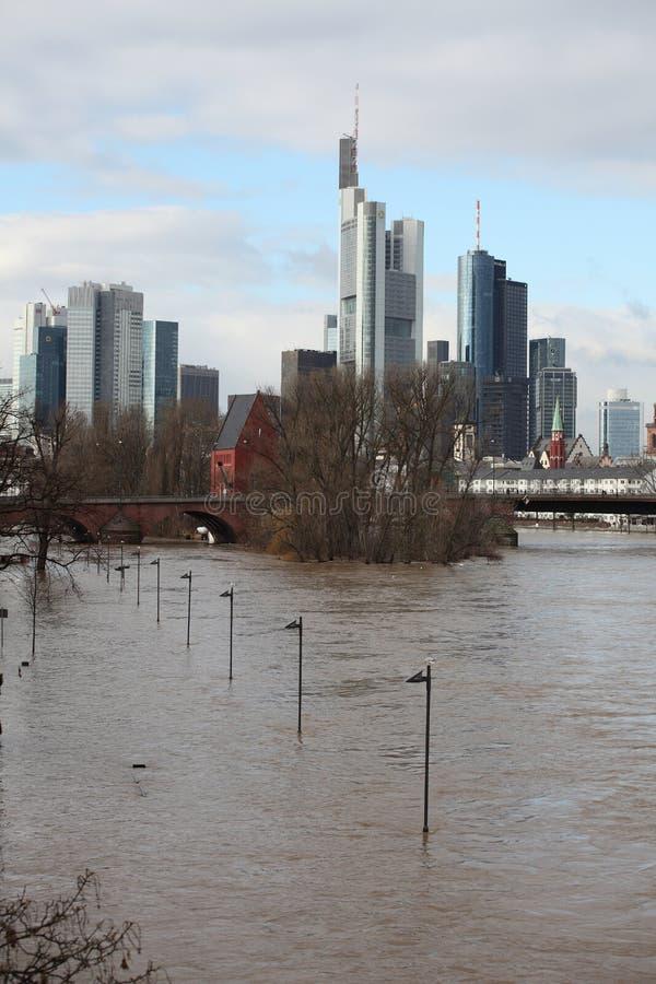 Flooded Skyline royalty free stock photos
