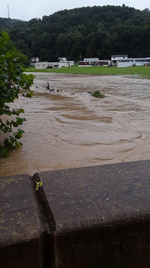 flooding fotografia de stock royalty free