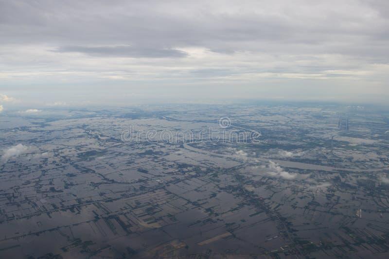 flooding imagem de stock