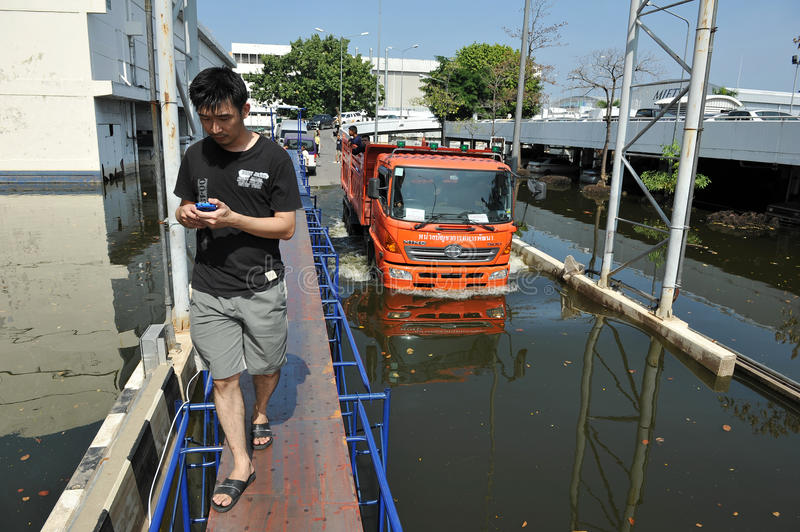 Flooding At Don Mueang International Airport Editorial Photography