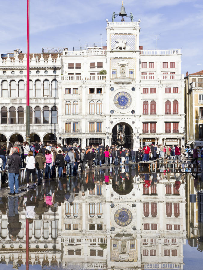 Download Flooding In St Marks Square Editorial Photo - Image: 22462761