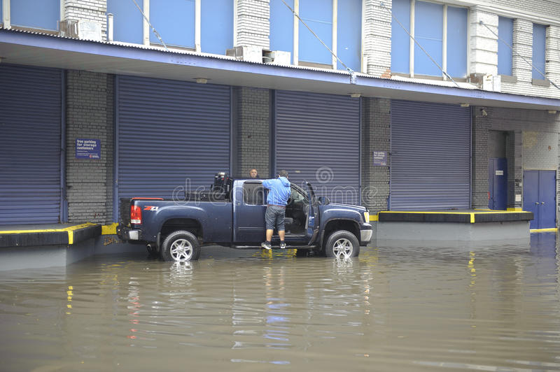 Download Flooding after storm Sandy editorial photo. Image of york - 27581376