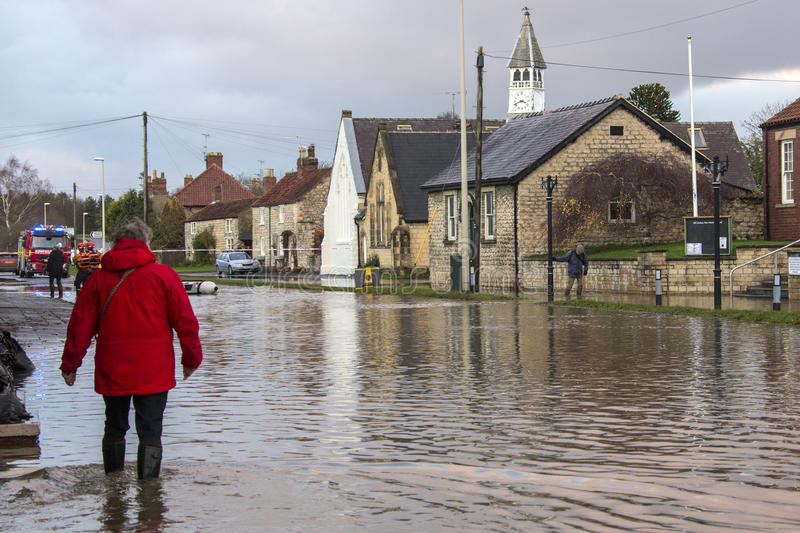 Download Flooding - Yorkshire - England Editorial Stock Image - Image: 27915864