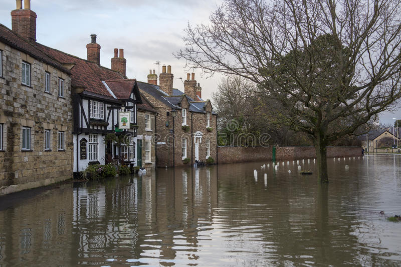 Download Flooding - Yorkshire - England Editorial Image - Image of rainfall, floodwater: 27916155