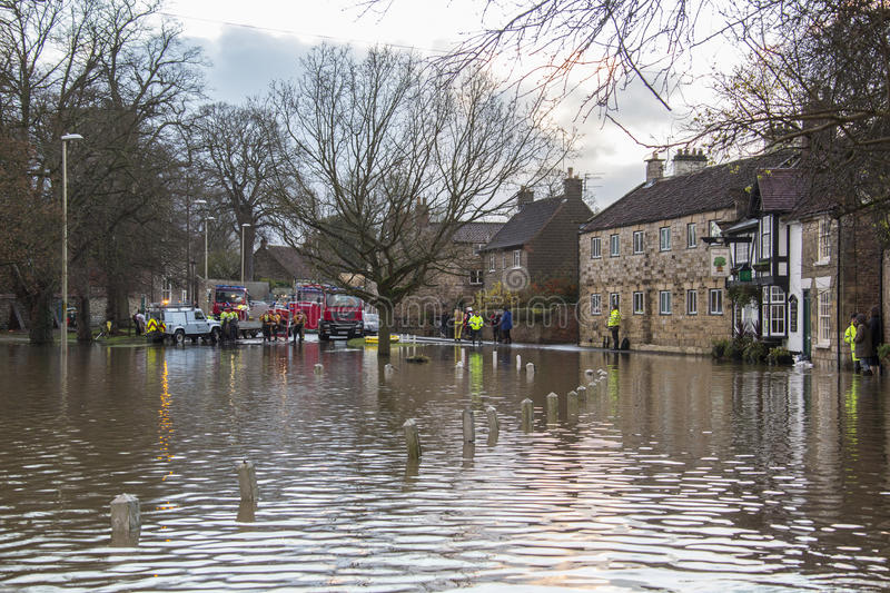 Download Flooding - Yorkshire - England Editorial Stock Image - Image: 27916594