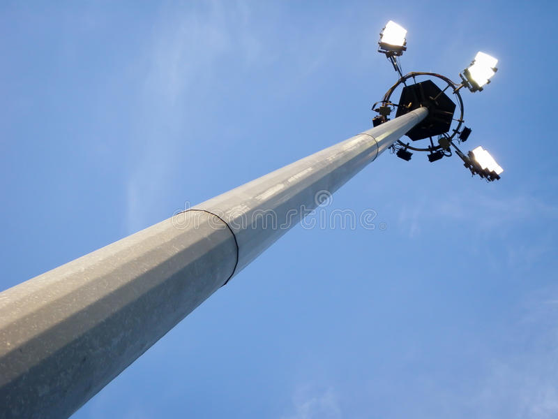 Download Floodlight stock image. Image of nobody, pole, sports - 24824735